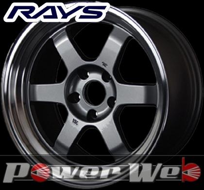 RAYS(レイズ) VOLK RACING TE37V (ボルクレーシング TE37V) 15インチ 8.0J PCD:100 穴数:4 inset:25 カラー:ガンメタリック/リムDC [ホイール単品4本セット]M