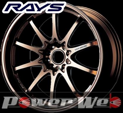 RAYS(レイズ) VOLK RACING CE28N 10SPOKE (ボルクレーシング CE28N 10スポーク) 18インチ 9.5J PCD:114.3 穴数:5 inset:22 カラー:ブロンズ [ホイール1本単位]M