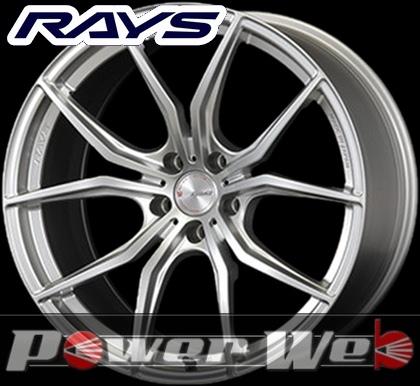 RAYS(レイズ) gram LIGHTS 57FXX (グラムライツ 57FXX) 18インチ 7.5J PCD:100 穴数:5 inset:50 FACE-1 カラー:サンライトシルバー [ホイール1本単位]M