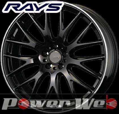 RAYS(レイズ) HOMURA 2x9 (ホムラ ツーバイナイン) 20インチ 9.5J PCD:120 穴数:5 inset:36 FACE-2 カラー:グロッシーブラック/リムエッジDC [ホイール1本単位]M