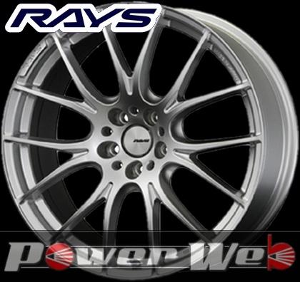RAYS(レイズ) HOMURA 2x7 (ホムラ ツーバイセブン) 19インチ 9.5J PCD:114.3 穴数:5 inset:45 FACE-2 カラー:スパークプレーテッドシルバー [ホイール1本単位]M