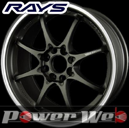 RAYS(レイズ) VOLK RACING CE28 CLUB RACER 8SPOKE (ボルクレーシング CE28 クラブ レーサー 8スポーク) 15インチ 7.0J PCD:100 穴数:4 inset:28 カラー:マットダークガンメタ/リムフランジDC [ホイール1本単位]M