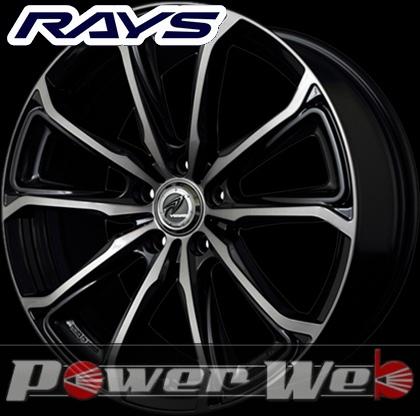 RAYS(レイズ) VERSUS BLACK LABEL CHRYSAOR (ベルサス ブラックレーベル クリサオール) 18インチ 7.0J PCD:114.3 穴数:5 inset:42 カラー:ブラック/ラインダイヤモンドカット/ブラッククリア [ホイール単品4本セット]M