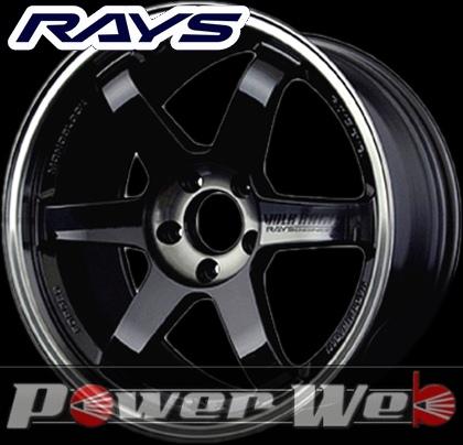 RAYS(レイズ) VOLK RACING TE37SL (ボルクレーシング TE37SL) 19インチ 10.5J PCD:114.3 穴数:5 inset:12 カラー:プレスドダブルブラック [ホイール1本単位]M