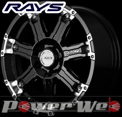 RAYS(レイズ) DAYTONA FDX-D (デイトナ FDX-D) 16インチ 7.0J PCD:114.3 穴数:5 inset:40 カラー:ブラック/リムダイヤモンドカット [ホイール1本単位]M