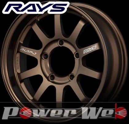 RAYS(レイズ) KC DECOR A・LAP-J (KC デコール エーラップ-J) 16インチ 5.5J PCD:139.7 穴数:5 inset:20 カラー:ブロンズアルマイト [ホイール1本単位]M
