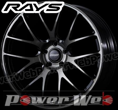 RAYS(レイズ) VOLK RACING G27 PROGRESSIVE MODEL (ボルクレーシング G27 プログレッシブモデル) 19インチ 10.5J PCD:114.3 穴数:5 inset:30 FACE-2 カラー:プレスドブラッククリアー [ホイール1本単位]M