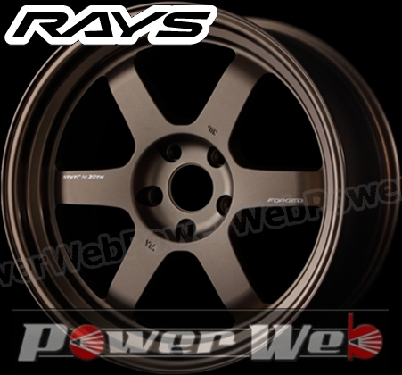 RAYS(レイズ) VOLK RACING TE37V MARK-II (ボルクレーシング TE37V マーク2) 18インチ 9.0J PCD:114.3 穴数:5 inset:-15 S Fase-2 カラー:ブロンズ [ホイール1本単位]M