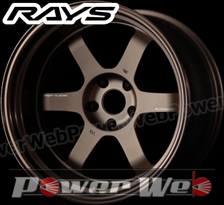 RAYS(レイズ) VOLK RACING TE37V MARK-II (ボルクレーシング TE37V マーク2) 18インチ 11.0J PCD:114.3 穴数:5 inset:-7 LLL FACE-1 カラー:ブロンズ [ホイール1本単位]M