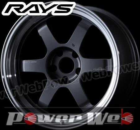 RAYS(レイズ) VOLK RACING TE37V MARK-II (ボルクレーシング TE37V マーク2) 18インチ 10.5J PCD:114.3 穴数:5 inset:15 M Fase-1 カラー:ガンメタリック/リムDC [ホイール単品4本セット]M