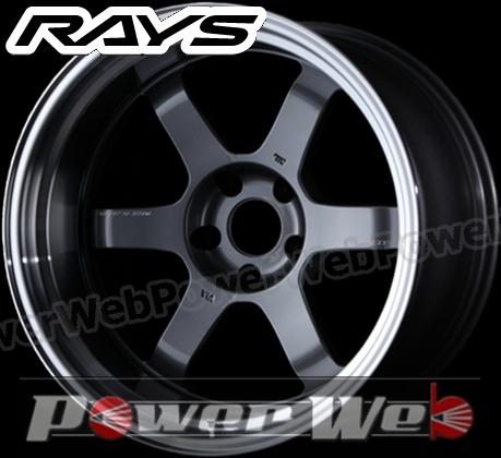 RAYS(レイズ) VOLK RACING TE37V MARK-II (ボルクレーシング TE37V マーク2) 18インチ 11.0J PCD:114.3 穴数:5 inset:-30 LLL FACE-2 カラー:ガンメタリック/リムDC [ホイール1本単位]M