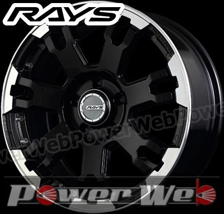 RAYS(レイズ) DAYTONA FDX-F7 (デイトナ FDX-F7) 16インチ 7.0J PCD:114.3 穴数:5 inset:40 カラー:ブラック/リムダイヤモンドカット/センターDC&ピアスドリルド [ホイール単品4本セット]M
