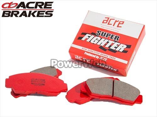 ACRE (アクレ) 品番:458/459 スーパーファイター ブレーキパッド 1台分セット アクセラスポーツ BMEFS 13.11~
