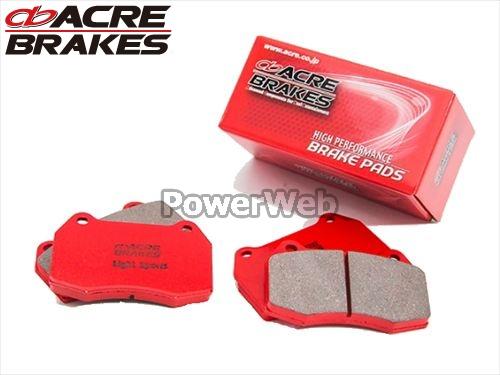 ACRE (アクレ) 品番:705/681 ライトスポーツ ブレーキパッド 1台分セット LS460/LS460L USF40 F-SPORTS (Fr.6pot Caliper) 12.10~