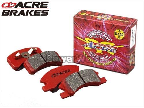 ACRE (アクレ) 品番:538/S9967 コンパクトアクレ ブレーキパッド(リア:シュー) 1台分セット MRワゴン MF22S 06.1~11.1