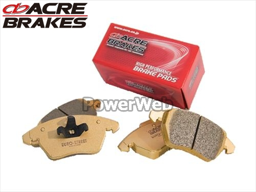 ACRE (アクレ) 品番:β901/β236 ユーロストリート ブレーキパッド 1台分セット アウディ Q7 4L 4LBHKS 07.4~