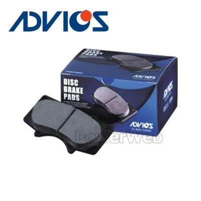 ADVICS (アドヴィックス) 補修用ブレーキパッド フロント 左右セット SN801P FTO 1800 94.09-00.07 DE2A:PowerWeb