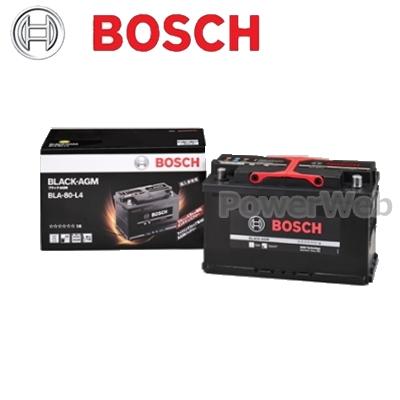 上品な BOSCH AGM (ボッシュ) BOSCH BLA-80-L4 BLA-80-L4 BLACK AGM 輸入車用バッテリー【代金引換不可商品/他商品の同梱不可】, C-スタイル:9b14e435 --- clftranspo.dominiotemporario.com