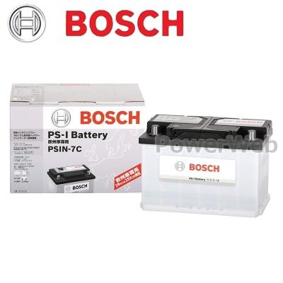 2019年新作 BOSCH (ボッシュ) (ボッシュ) PSIN-7H PS-I PSIN-7H 輸入車用バッテリー BOSCH【代金引換不可商品/他商品の同梱不可】, いいヘナオンラインショップ:6cbac6c3 --- hortafacil.dominiotemporario.com