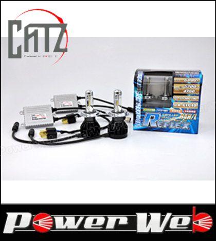 CATZ (キャズ) LED REFLEX(リフレクス) ヘッドライトコンバージョンキット 6000K H4切替 品番:CLC10