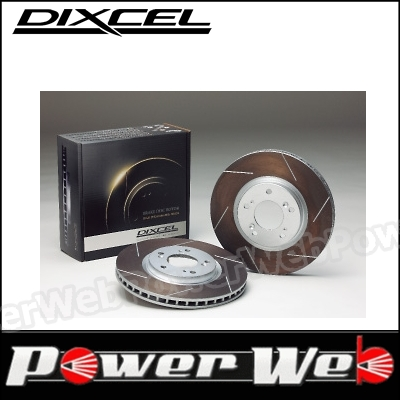 DIXCEL (ディクセル) フロント ブレーキローター HS 1911154 クライスラー GRAND VOYAGER GS33L/GS38L 99/12~01 3.3/3.8 V6 ABS付