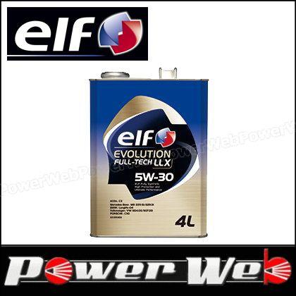 elf (エルフ) EVOLUTION FULL TECH LLX 5W-30 全化学合成油 ACEA:C3 エンジンオイル 20L(ペール) 品番:198556 ※他商品同梱不可
