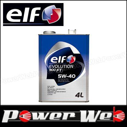 elf (エルフ) EVOLUTION 900 FT 5W-40 全化学合成油 ACEA:A3/B4 API:SN/CF エンジンオイル 20L(ペール) 品番:198834 ※他商品同梱不可