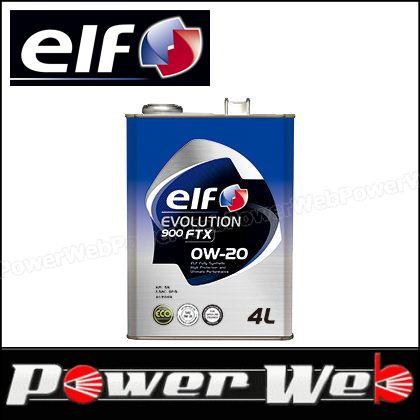 elf (エルフ) EVOLUTION 900 FTX 0W-20 全化学合成油 API:SN ILSAC:GF-5 エンジンオイル 20L(ペール) 品番:198824 ※他商品同梱不可