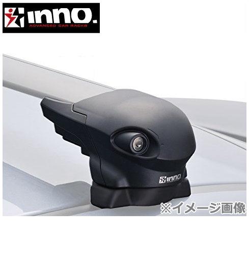 CARMATE inno (カーメイト イノー) スバル インプレッサ 型式:GE/GV系 年式:H20.10~H23.12 4ドアセダン/(アネシス) フット:XS300+フック:TR145+バー(シルバー):XB100S/XB93S エアロベース 1台分セット