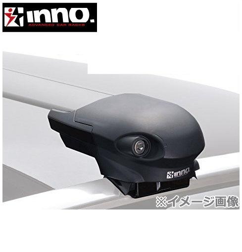 CARMATE inno (カーメイト イノー) メルセデスベンツ Cクラス 型式:205系 年式:H26.11~ ワゴン/ダイレクトルーフレール付 フット:XS400+フック:TR138+バー(シルバー):XB100S/XB93S エアロベースセット 1台分セット