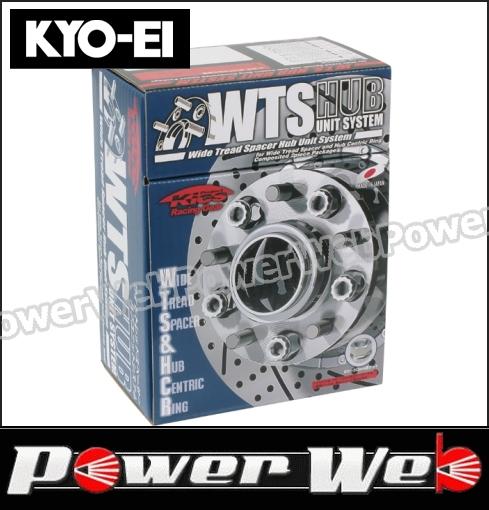 KYO-EI (キョーエイ) 品番:5115W3-66 WTS ハブユニットシステム ワイドトレッドスペーサー M12×P1.25 PCD:114.3 5穴 内径:66mm 厚み:15mm 入数:2枚