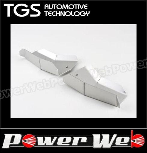 TGS 品番:TGS-LG465F フロント ロアアームガード シルバー デリカD:5 【代金引換不可商品】
