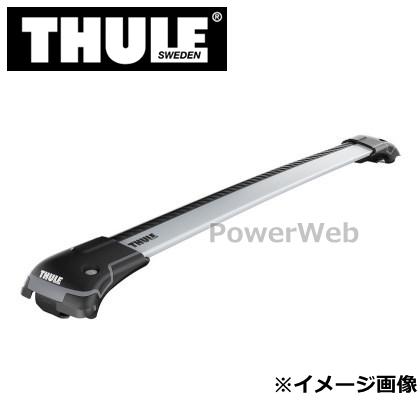 THULE (スーリー) WingBar Edge 9585 (シルバー) ウイングバーエッジ 9585 ルーフレール用 バー長:78/86cm(各1本) 品番:TH9585