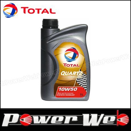 TOTAL (トタル) QUARTZ RACING (クオーツ レーシング) 10W-60 (10W60) エンジンオイル 1L×18個入 (1ケース) 品番:182162