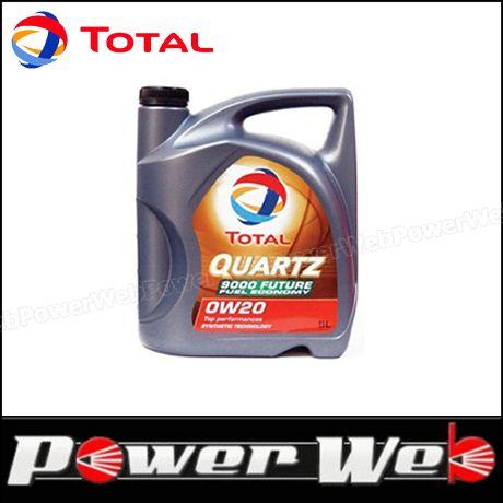 TOTAL (トタル) QUARTZ 9000 FUTURE GF5 (クオーツ フューチャー) 0W-20 (0W20) エンジンオイル 20L缶 (ペール缶) 品番:188525