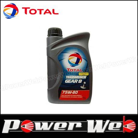 TOTAL (トタル) TRANSMISSION GEAR 8 75W-80 (75W80) ギアオイル 20L缶 (ペール缶) 品番:203634