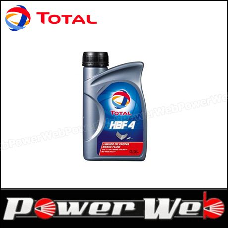 TOTAL (トタル) HBF4 DOT:4 ブレーキフルード 0.5L×12個入 (1ケース) 品番:181942