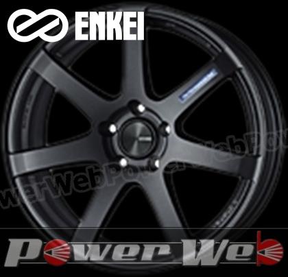 ENKEI (エンケイ) PF07 18インチ 7.5J PCD:100 穴数:5 inset:48 マットダークガンメタリック [ホイール単品4本セット]kh