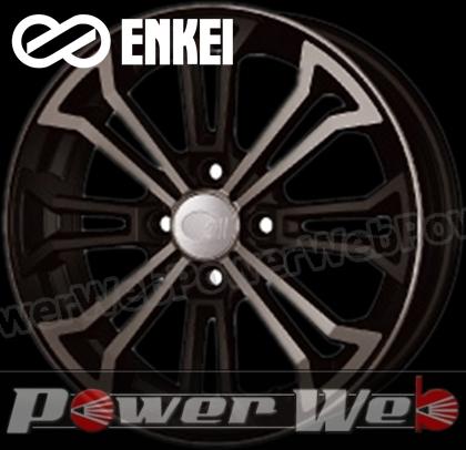 ENKEI (エンケイ) all eight 4S (オールエイト 4S) 15インチ 5.0J PCD:100 穴数:4 inset:45 ブラッククリア [ホイール単品4本セット]kh