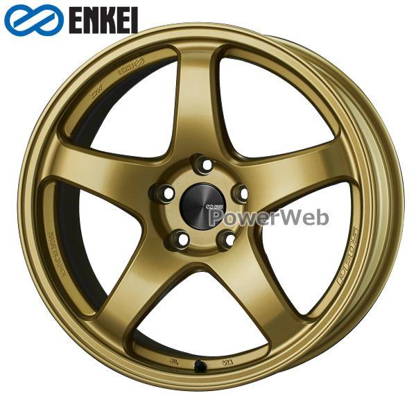ENKEI/エンケイ PF05 15インチ 5.0J PCD:100 穴数:4 inset:45 ゴールド [ホイール1本]