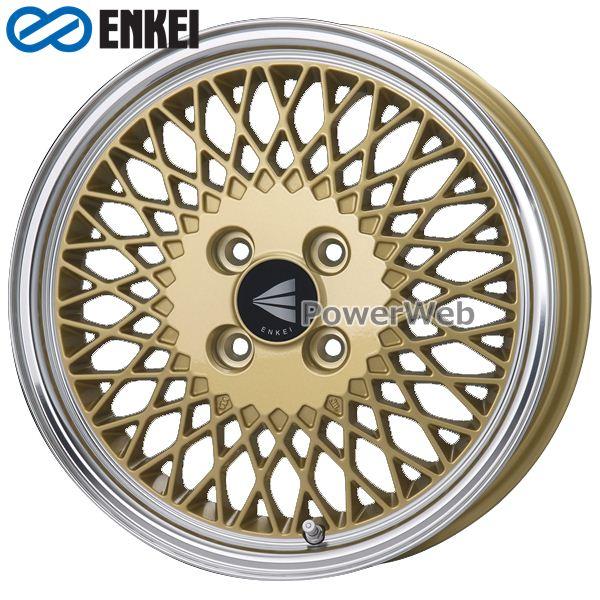 ENKEI/エンケイ ENKEI 92 16インチ 5.5J PCD:100 穴数:4 inset:45 ゴールドマシニング [ホイール4本セット]