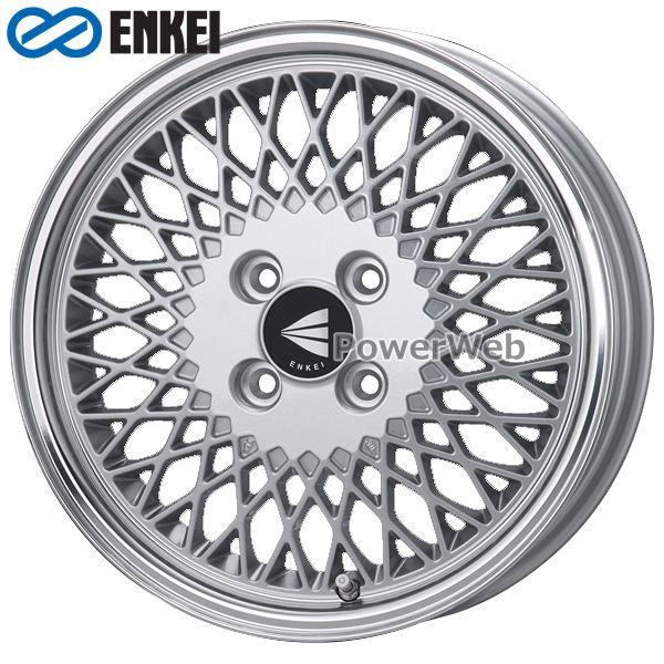 ENKEI/エンケイ ENKEI 92 16インチ 5.5J PCD:100 穴数:4 inset:45 シルバーマシニング [ホイール1本]