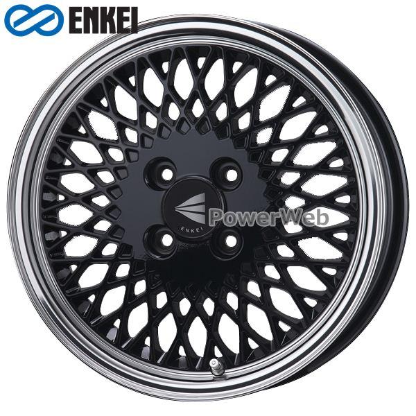 ENKEI/エンケイ ENKEI 92 16インチ 5.5J PCD:100 穴数:4 inset:45 ブラックマシニング [ホイール4本セット]