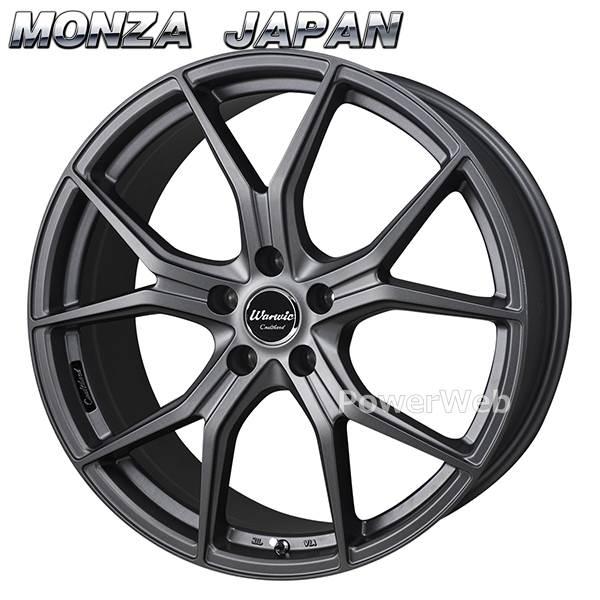 MONZA JAPAN Warwic Coulthard (ワーウィック クルサード) マットガンメタリック 18インチ 8.0J PCD:114.3 穴数:5 inset:38 [ホイール単品4本セット]