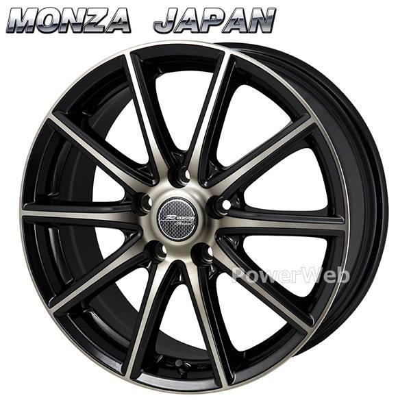 MONZA JAPAN (モンツァジャパン) R VERSION SPRINT (Rバージョン スプリント) ブロンズクリア/ブラックポリッシュ 15インチ 6.0J PCD:114.3 穴数:5 inset:53 [ホイール単品4本セット]