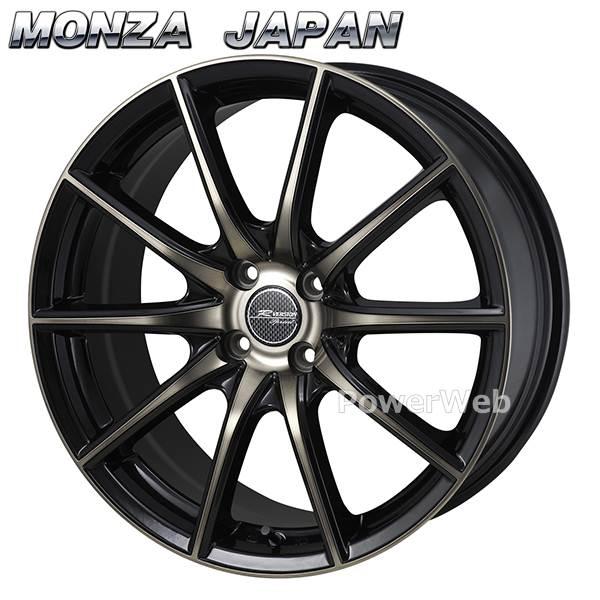 MONZA JAPAN (モンツァジャパン) R VERSION SPRINT (Rバージョン スプリント) ブロンズクリア/ブラックポリッシュ 17インチ 7.0J PCD:100 穴数:4 inset:42 [ホイール1本単位]