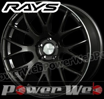 RAYS(レイズ) HOMURA 2x8GTS (ホムラ ツーバイエイトGTS) 20インチ 9.5J PCD:114.3 穴数:5 inset:38 FACE-2 スーパーダークガンメタ/リムエッジDC [ホイール単品4本セット]