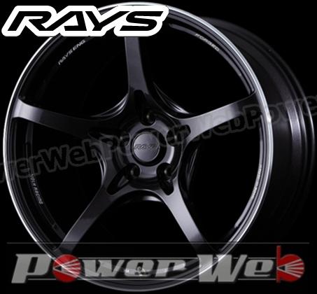RAYS(レイズ)VOLKRACINGG50(ボルクレーシングG50)18インチ8.5JPCD:114.3穴数:5inset:35FACE-2カラー:ダークパープルガンメタ/リムエッジDC[ホイール単品4本セット]
