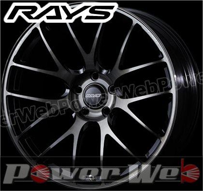 RAYS(レイズ) VOLK RACING G27 PROGRESSIVE MODEL (ボルクレーシング G27 プログレッシブモデル) 18インチ 9.0J PCD:112 穴数:5 inset:45 FACE-2 プレスドブラッククリアー [ホイール単品4本セット]
