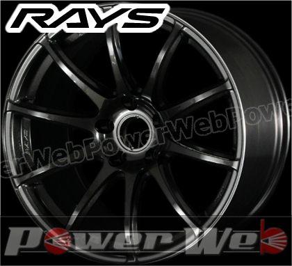 RAYS(レイズ) 57Transcend (57トランセンド) 17インチ 7.0J PCD:100 穴数:4 inset:50 FACE-1 カラー:スーパーダークガンメタ/リムエッジDC [ホイール単品4本セット]